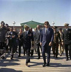 The Shah and JFK in 1962.