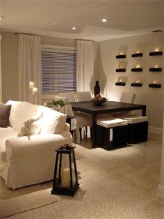 Everything About This Room Is Just Absolutely Perfect!!! Love It!! Black Dining  RoomsBlack And White Living Room DecorWhite ... Part 92