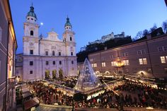 Salzburger Christkindlmarkt, Salzburg - Austria credits: 20091128, foto: wildbild