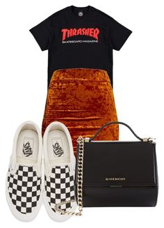 """""""4/30/17"""" by shantinique on Polyvore featuring Vans and Givenchy"""