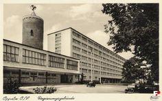 Budynek rejencji opolskiej w pierwszej połowie lat 30' XX wieku.