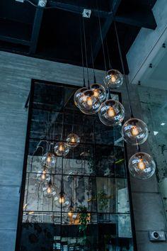 Hanging Light Fixtures, Hanging Lights, Jily, Industrial Loft, Office Decor, Stairs, Chandelier, Ceiling Lights, Lighting