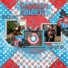 Layout using {Mr America} Digital Scrapbooking Kit by Neverland Scraps http://store.gingerscraps.net/Mr.-America.htmland {Whats Your Angle} by Little Rad Trio http://store.gingerscraps.net/What-s-Your-Angle-templates.html