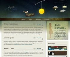 50 Beautiful Blog Designs