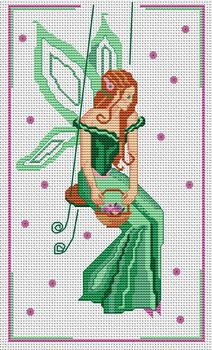 free cross stitch patterns I know Caron Caron Greene Keal will love this… Fantasy Cross Stitch, Cross Stitch Fairy, Cross Stitch Angels, Cross Stitch Cards, Cross Stitch Kits, Cross Stitch Designs, Cross Stitching, Cross Stitch Embroidery, Cross Stitch Patterns