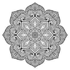 GOOD SITE TO PRINT FROM Free Downloadable Mandala Coloring for Stress Relief - HerbalShop