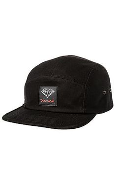 041bc247c05 The OG Sign 5 Panel Hat in Black by Diamond Supply Co.