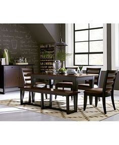 Brisbane Dining Furniture Collection - Dining Room Collections ...