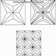 Vectorized elementary carving patterns