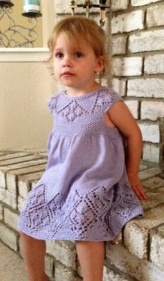 Ravelry: Lizzy Dress by Taiga Hilliard Designs