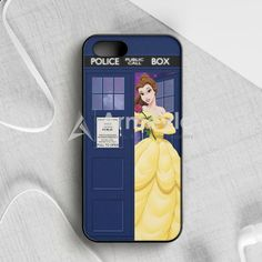Disney Princess Aurora Tardis Police Box iPhone 5|5S|SE Case | armeyla.com