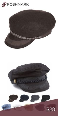 76dd06b5697 Brown Greek Fisherman s Hat Brown Greek Fisherman s Hat. Features- Brown  color