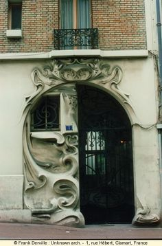 Art Nouveau door Clamart France  561507_450649658326573_1994061904_n.jpg (405×615)