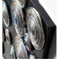 "Панно ""Спиральки"". Картина AA0167 - BRAXTON Picture 120x70 см Laforma"