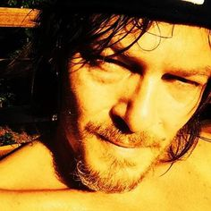 A VERY HOT Norman Reedus