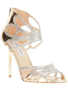 Shop Women's Jimmy Choo Sandal heels on Lyst. Track over 2669 Jimmy Choo Sandal heels for stock and sale updates. Stilettos, Pumps, High Heels, Sexy Heels, Dream Shoes, Crazy Shoes, Me Too Shoes, Glitter Sandals, Metallic Sandals