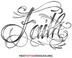 faith-lettering-tattoo-designs