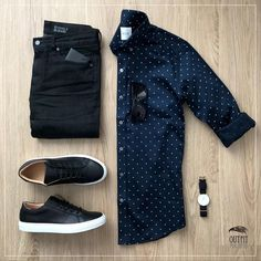 Breathtaking 35 Capsule Wardrobe Approved Outfit Grid for Men Casual Wear, Casual Outfits, Men Casual, Casual Chic, Mens Casual Shirts, Simple Outfits, Men Fashion Casual, Outfits Hipster, Hipster Boys