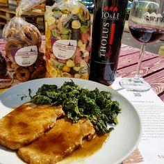 Lonza di maiale al forno con spinaci..  www.jo-le.com
