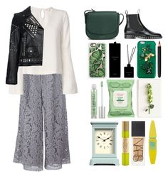 """""""5.450"""" by katrina-yeow ❤ liked on Polyvore featuring ADAM, Jonathan Simkhai, Valentino, Yves Saint Laurent, Mansur Gavriel, Casetify, Dolce&Gabbana, Urban Decay, Burt's Bees and Tommy Mitchell"""