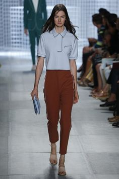 Lacoste RTW Spring 2014 - Slideshow - Runway, Fashion Week, Reviews and Slideshows - WWD.com