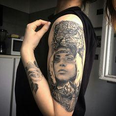 Tattoo by Duma Sorin Sleeve in progress!