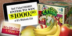 $1000 Back to school Giveaway Bonus | Brothers-All-Natural Blog | Brothers-All-Natural Blog