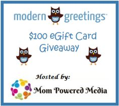 Giveaway Alert: Win $100 Modern Greetings Gift Code! Open US