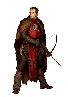 Fantasy Heroes, Fantasy Male, Fantasy Warrior, Fantasy Rpg, Archer Characters, Dnd Characters, Fantasy Characters, Dungeons And Dragons Art, Dungeons And Dragons Characters