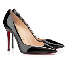 christian louboutin pump black