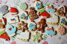 Different shape of cookies