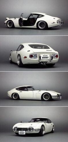 Toyota 2000GT my uncle had one of these. I had no idea at the time just how cool he was :-)