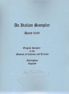 """Italian Sampler"" by Kay Montclare"