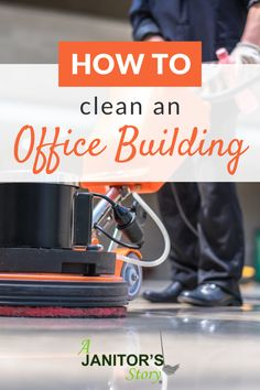 Easy step by step office building cleaning tips for professional janitorial cleaning services.  Learn how to create a custom cleaning system for small, medium, and large office buildings. FREE printables for professional cleaning service companies.  #ajanitorsstory #officecleaningcompany Business Cleaning Services, Building Cleaning Services, Professional Cleaning Services, Cleaning Companies, Professional Cleaners, Cleaning Hacks, Janitorial Cleaning Services, Office Buildings, Entrepreneur Inspiration