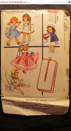 SALE Uncut 1950's McCall's Sewing Pattern by EarthToMarrs on Etsy, $14.40