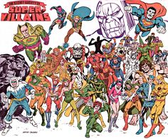 The Secret Society of Super Villains: Art by Alex Saviuk and Mike DeCarlo