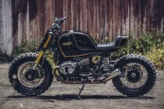 """BMW R nineT Street Tracker """"Super7"""" by Onehandmade - Images by JL Photography #motorcycles #streettracker #motos 