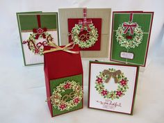 Stampin' Up! Wondrous Wreath Stamp Class