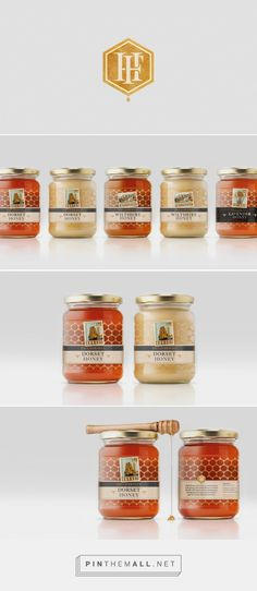 Field Honey - Packaging Refresh - Packaging of the World - Creative Package Design Gallery - http://www.packagingoftheworld.com/2016/07/field-honey-packaging-refresh.html