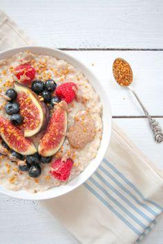Kokos Porridge - vegan, glutenfrei, ohne raffinierten Zucker