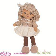 Muñecas de trapo La nina - Kate falda beig. PVP: 19.95€. Puedes comprar en: http://www.disy.es/munecas/munecas-de-trapo/munecas-de-trapo-la-nina.html