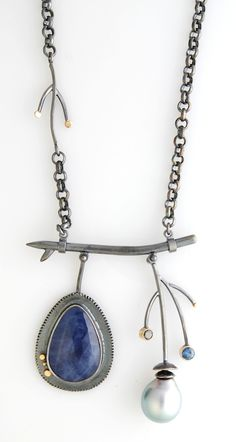 Indigo Branch necklace | Sydney Lynch-not my style but I can really appreciate the creativity on this one