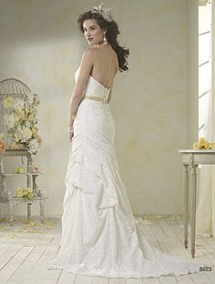 Alfred Angelo Bridal Style 8523 from Modern Vintage Bridal Gowns