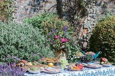 Mediterranean Feast, Ottolenghi feast, food station, grazing station