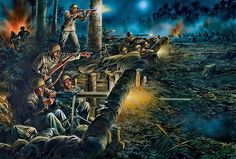 """""""Heroic stand on Bloody Ridge, Guadalcanal, night of October 24–25, 1942"""""""