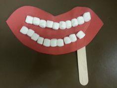 Dental Health and Hygiene Preschool craft