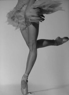 Sylvie Guillem, a favourite dancer of Rudolf Nureyev.