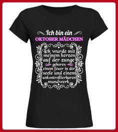 ICH BIN EIN OKTOBER MDCHEN - Shirts für tochter (*Partner-Link)
