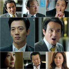 Korean drama, Punch 펀치 - The Feast of Machiavelli -  I love the dialogue, love the chess moves, love the pace. Kim Rae Won, Jo Jae Hyun, and Kim Ah Joong - kdrama