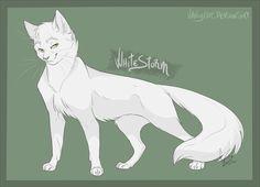 Warrior Cats - Whitestorm by VanyCat.deviantart.com on @DeviantArt
